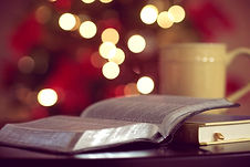 Bible with mug & lights.jpg