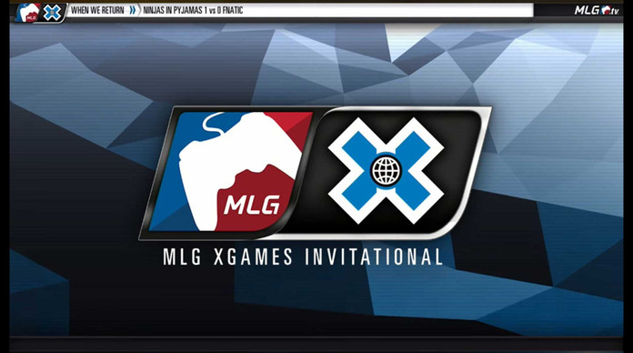 MLG X Games Broadcast Screen