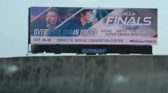 MLG Finals Billboard