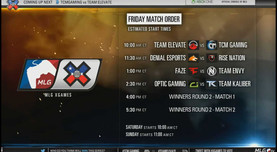 MLG X Games Broadcast Screen