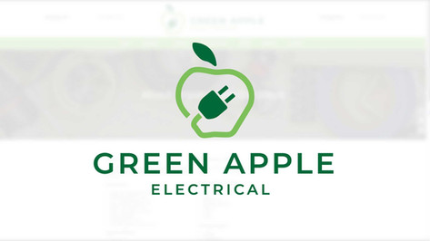 Green Apple Electrical NYC Logo