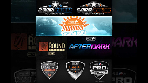 MLG Broadcast Packages Logos