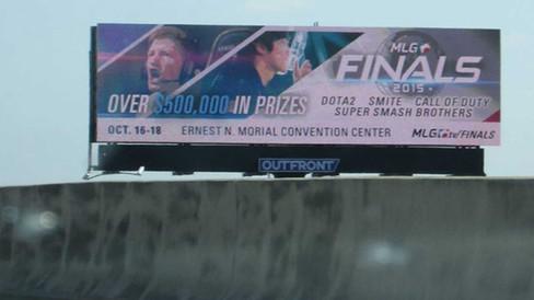 MLG Finals Billboard