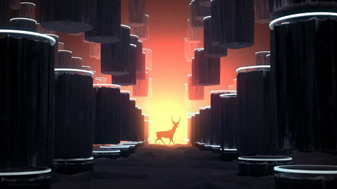 3D Deer Render
