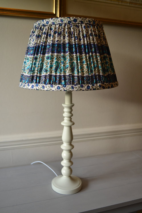 "Small 30cm (12"") Gathered French Drum Lampshade"