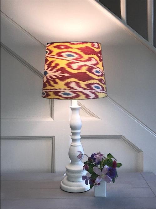 XS 25cm handmade silk ikat retro lampshade