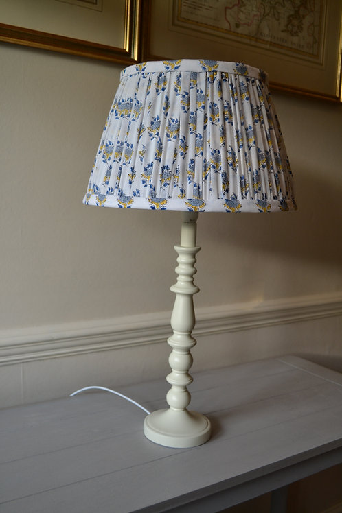 """Small 30cm (12"""") Gathered French Drum Lampshade"""
