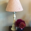 Thumbnail: 30cm pink and red block print shade