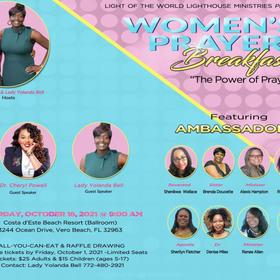 Women's Prayer Breakfast. October 16th @ 9 AM
