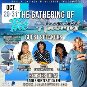 The Gathering of The Naomi's October 29-31st