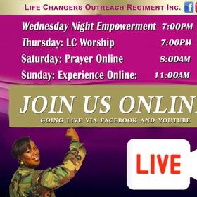 Sunday Morning Worship Service!