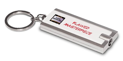 Flawed Keychain  Flashlight