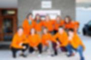 2. Klasse Talentschule Davos von links nach rechts  obere Reihe: Jill Pearce – Liara Florin – Ladina Riedi – Liv Bartelt – Sina Fausch  Björn Schärli – Lara Spaqi – Anina Jung – Vincent Parrée – Laurin Gredig