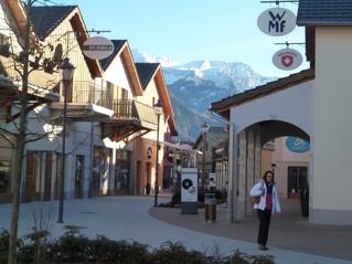 Einkaufsparadies Outletpark in Landquart:-))