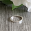 Thumbnail: Simple Sterling silver stacking ring (square wire)