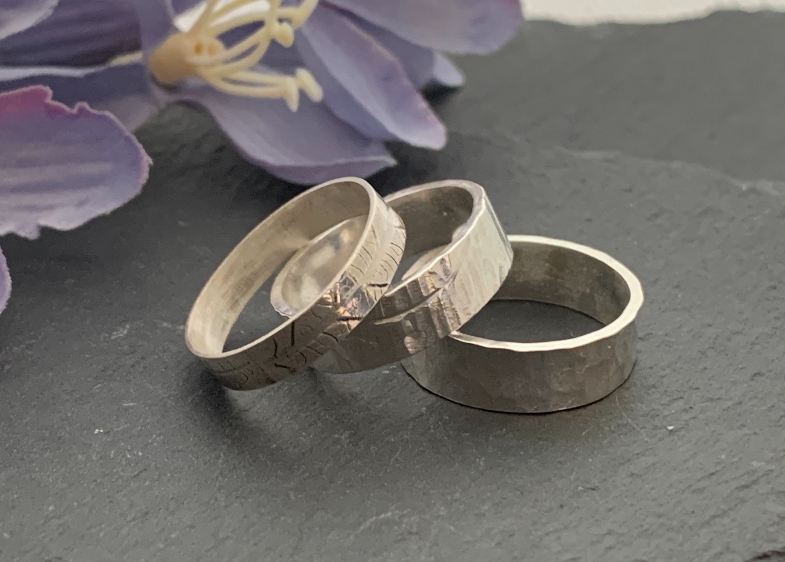 Ring workshop - Textured band 11 - 4 pm