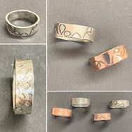 textured bands