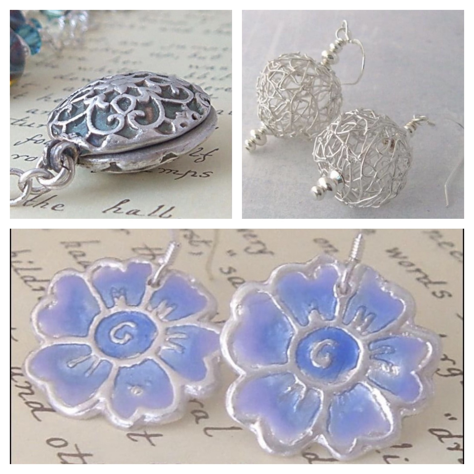 Silver Clay/PMC jewellery 10.00-3.00 pm