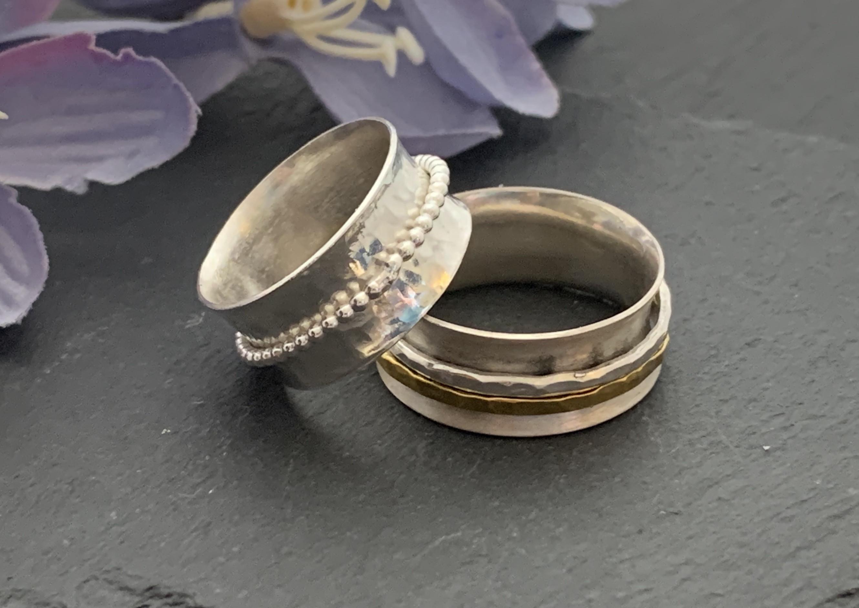 Spinner ring workshop 10 - 4 pm