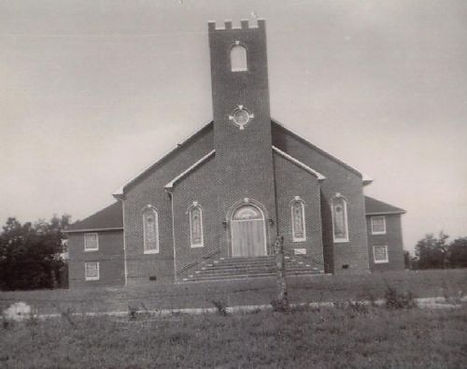 Church building in 1950's