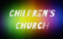 Children's Church is held every Sunday during the worship hour for children ages 4-12. Children's Church is a time for worship, bible study, and games.