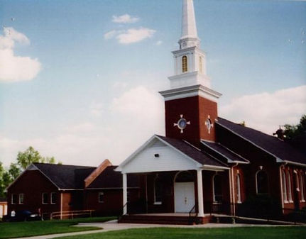 Church building in 1997