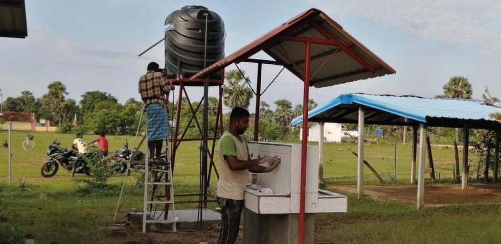 Gangula Healing Water for Residents of Palaviya