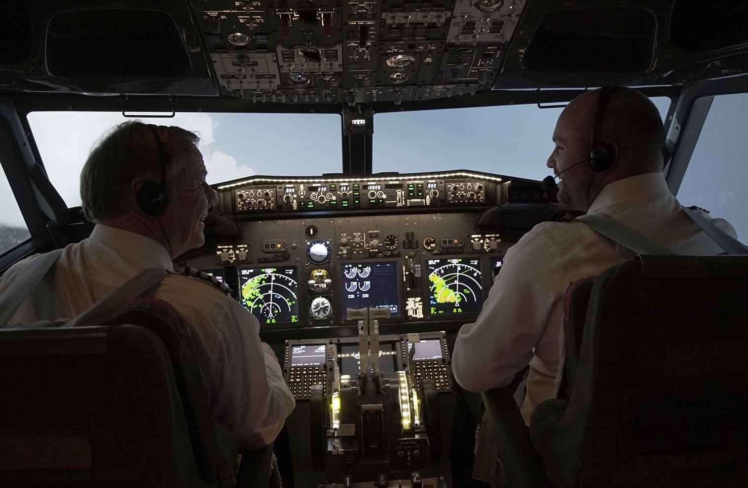 737 Pro Flight Simulation 1