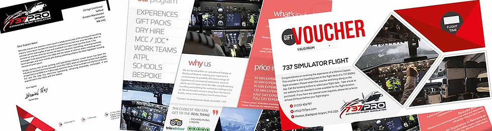 Flight Experience gift voucher