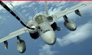 Fighter jet simulator expereince