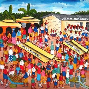 #06 - CURIOSITA'...Tinga Tinga, la vivace pittura della Tanzania.