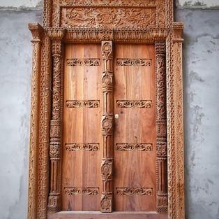STONE TOWN FAMOUS DOOR