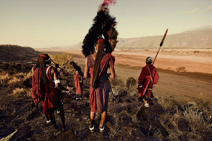 #35 - CURIOSITA'...il pittoresco popolo MASAI!!