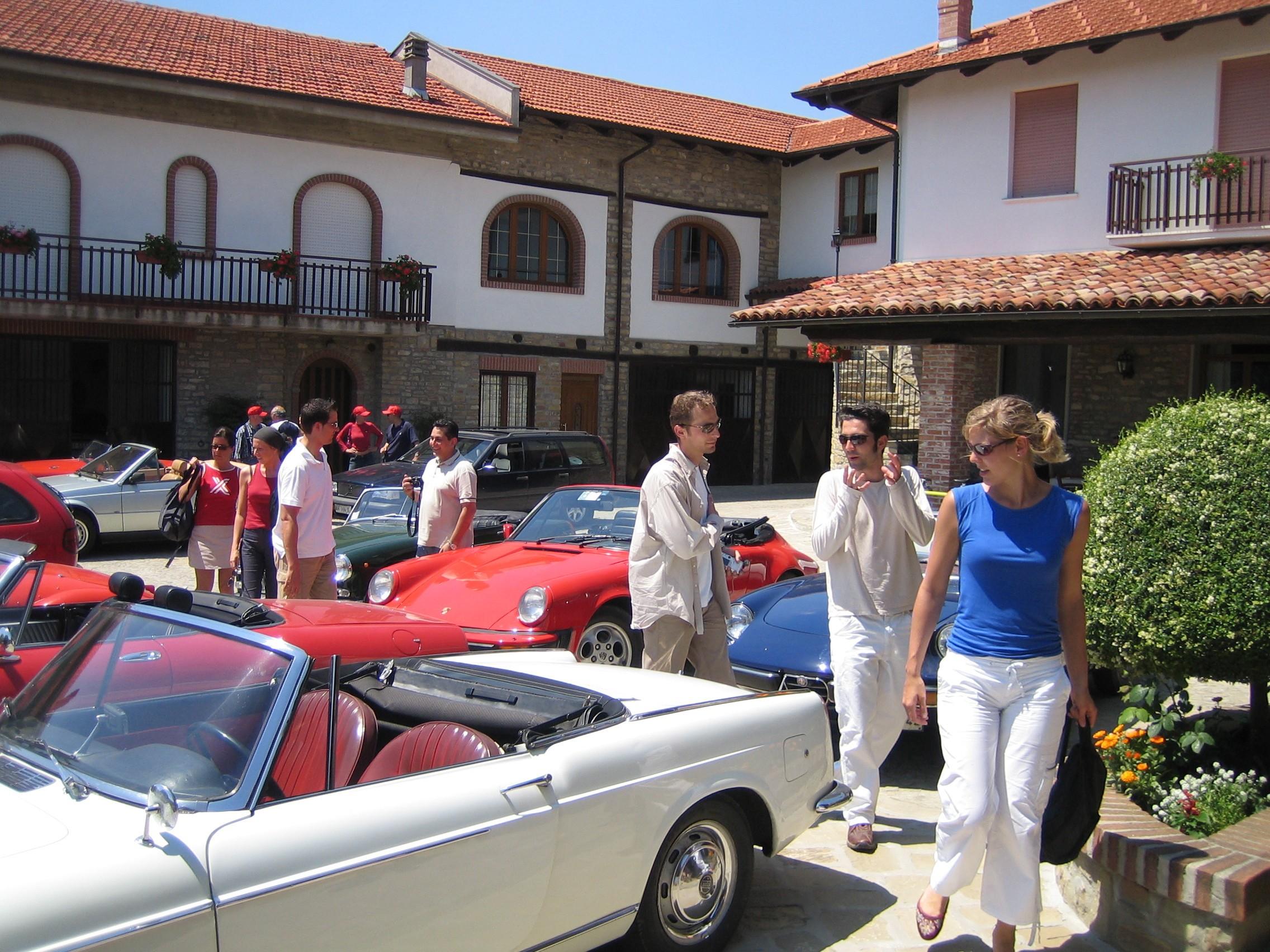 Vintage cars tour
