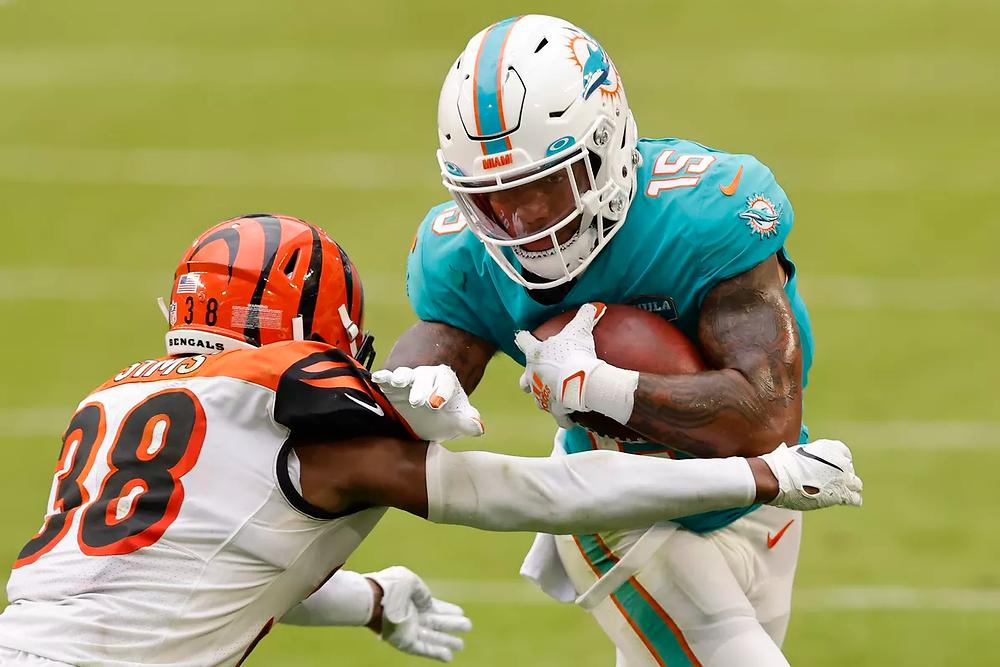 Lynn Bowden Jr., Cincinnati Bengals, Miami Dolphins