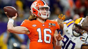 Trevor Lawrence and the Clemson Tigers