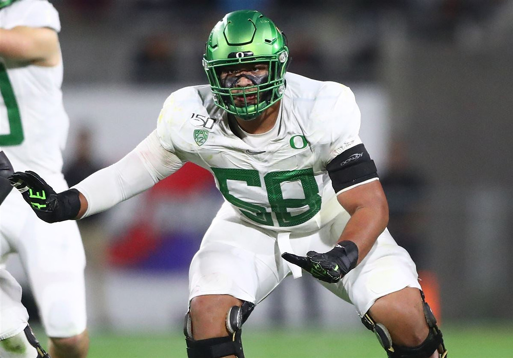 University of Oregon, Penei Sewell, Offensive Tackle, O-Line, NFL Draft, 2021 NFL Draft