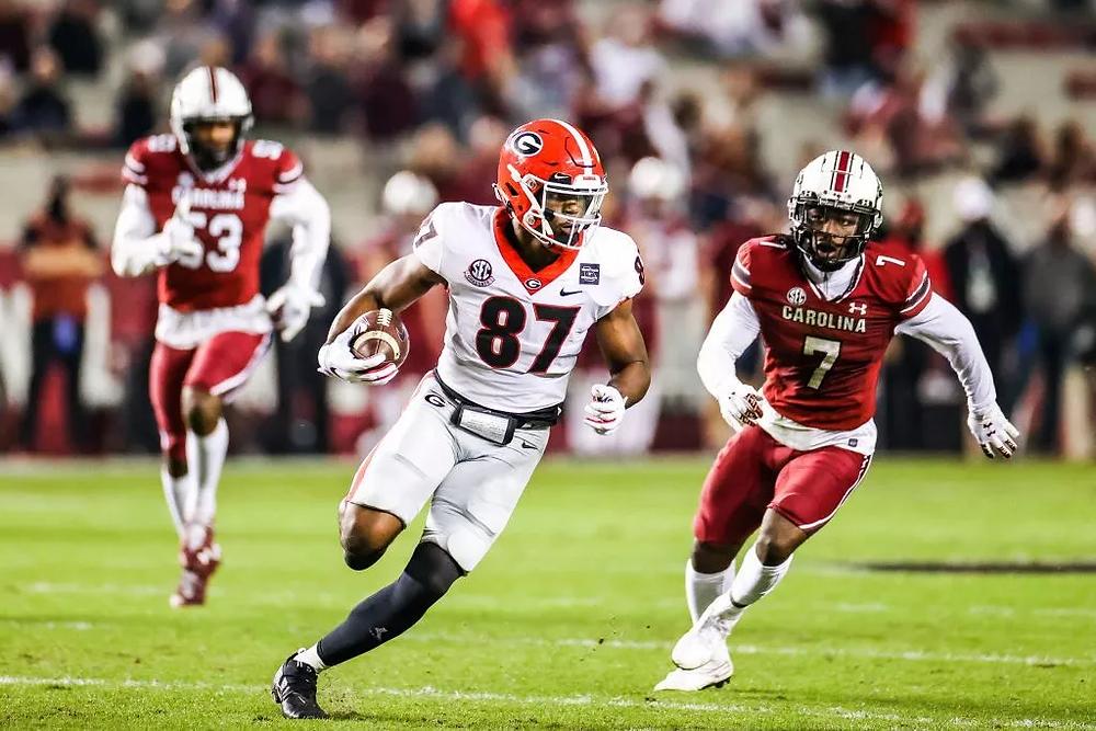 2021 Tight Ends, NFL Draft, SEC Football, Georgia, NCAA, South Carolina, Tre' Mckitty, Football, Draft Season