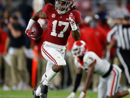 2021 NFL Draft WR Rankings