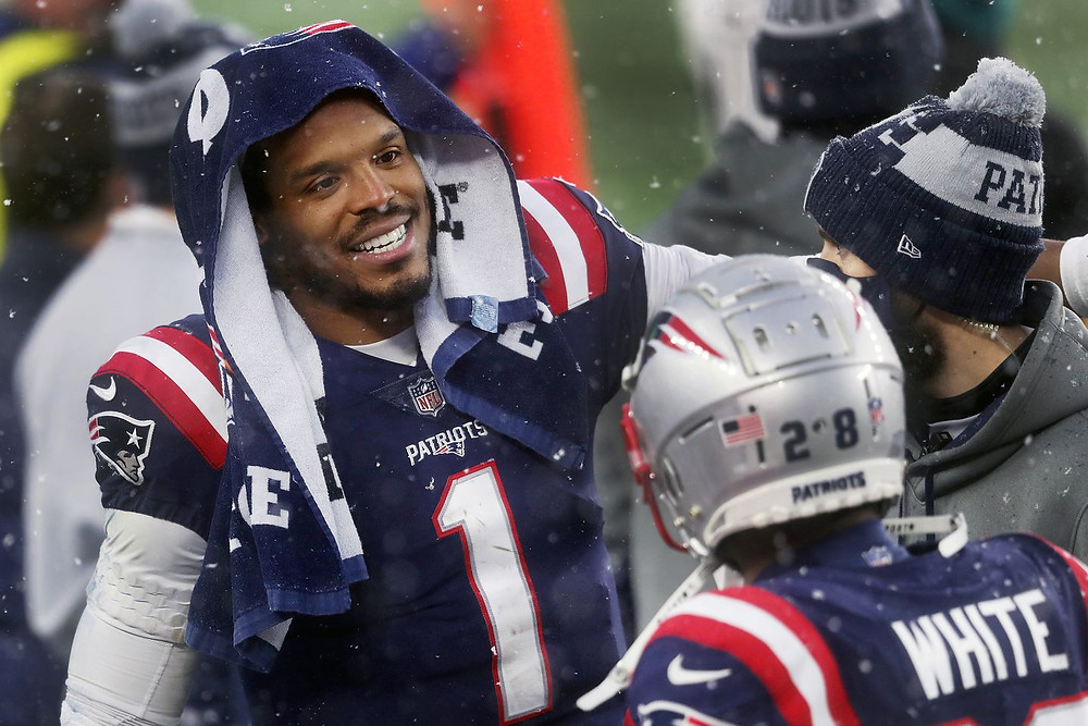 Cam Newton, New England Patriots. Where will Cam Newton sign in 2021? Are there 32 QBs in the NFL better than Cam Newton?>