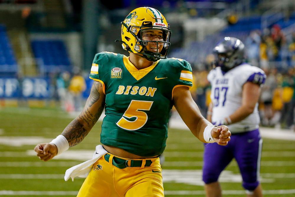 Trey Lance, NFL QB, 2021 NFL Draft