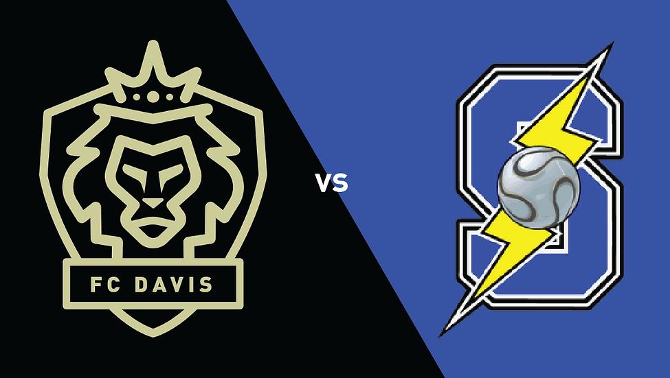 FC Davis vs Sacramento Storm