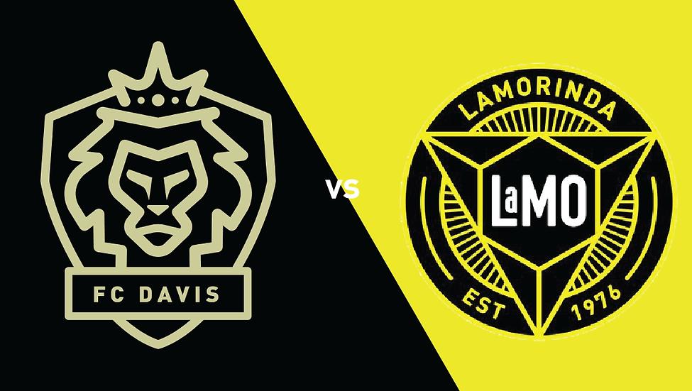 FC Davis vs Lamorina SC