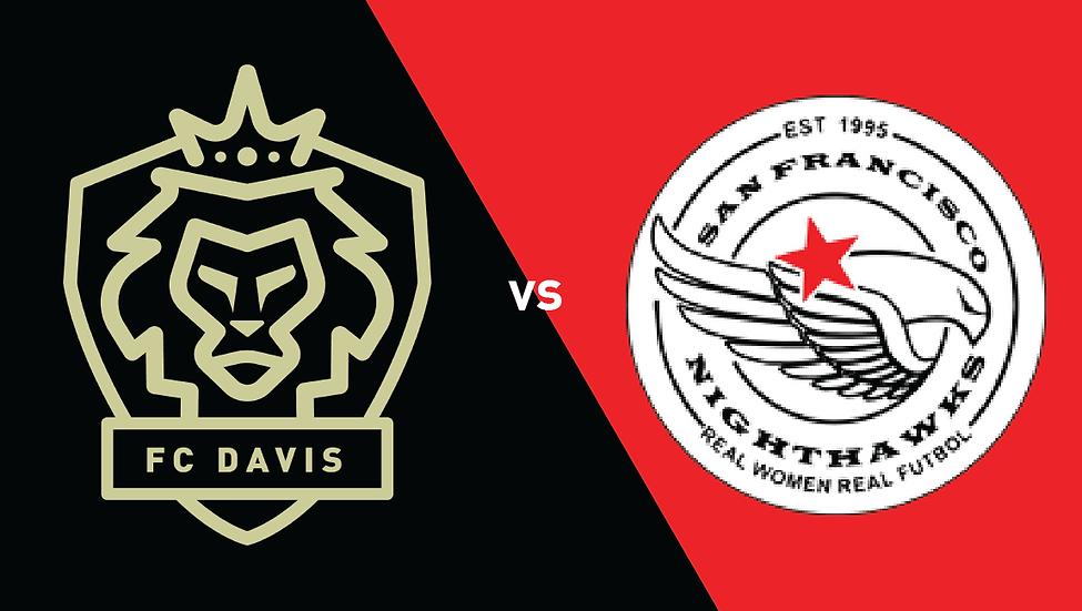FC Davis vs SF Nighthawks