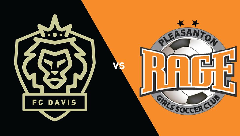 FC Davis vs Pleasanton Rage