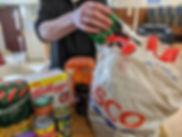 Food Parcel Prep