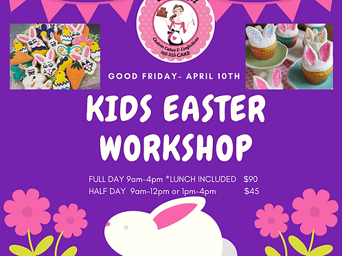 Kids Good Friday workshop 1/2 Day
