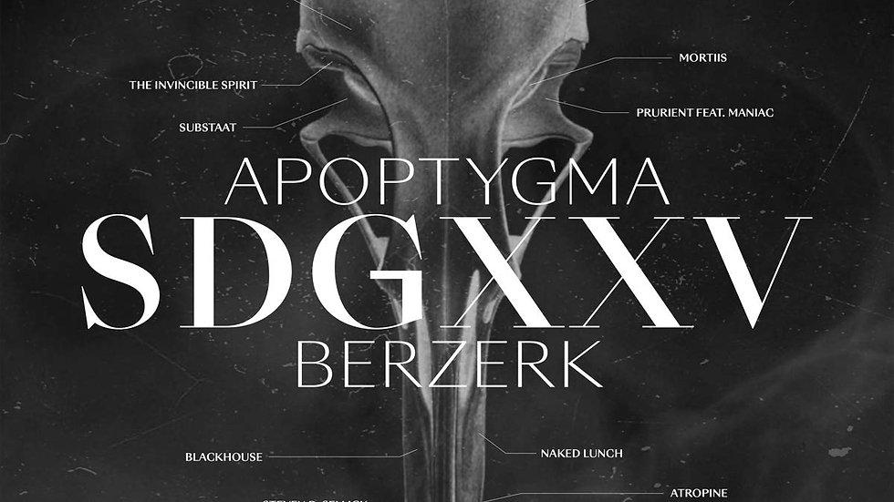 """Apoptygma Berzerk """"SDGXXV"""" (Klar vinyl)"""