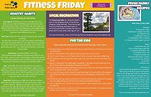 Fitness Fridays - August Full Poster .jp