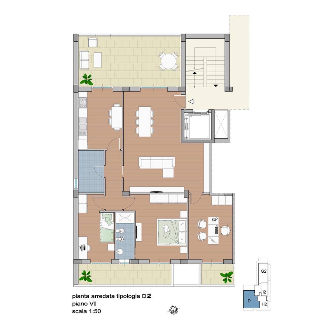 Appartamento Pentavani